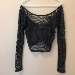 Urban Outfitters Out From Under Lace Crop Top